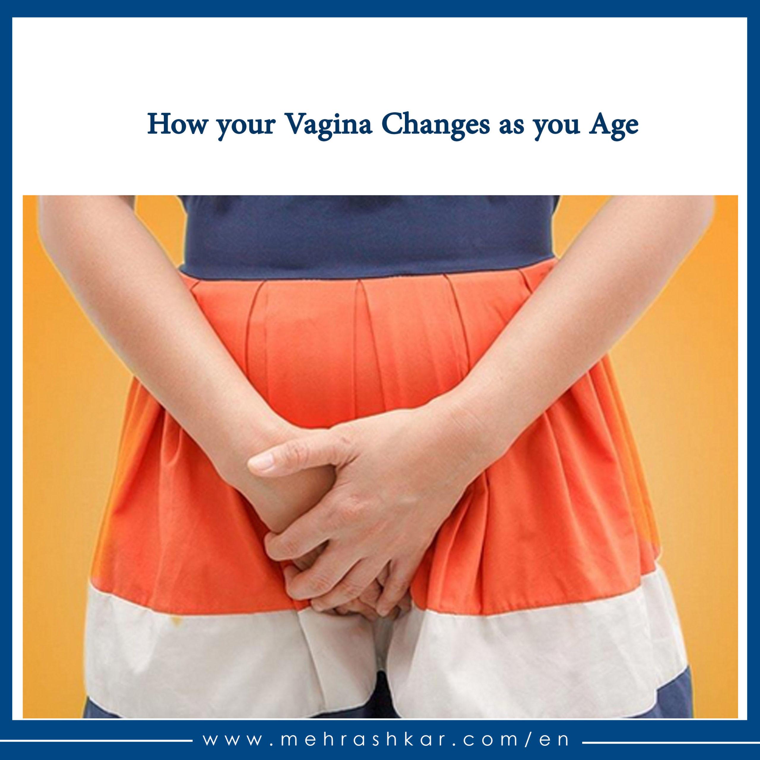 تاثیر بالا رفتن سن بر واژن